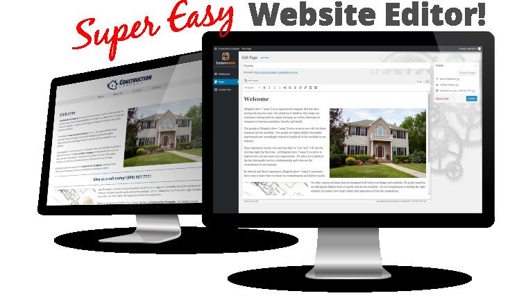 Super Easy Website Editing