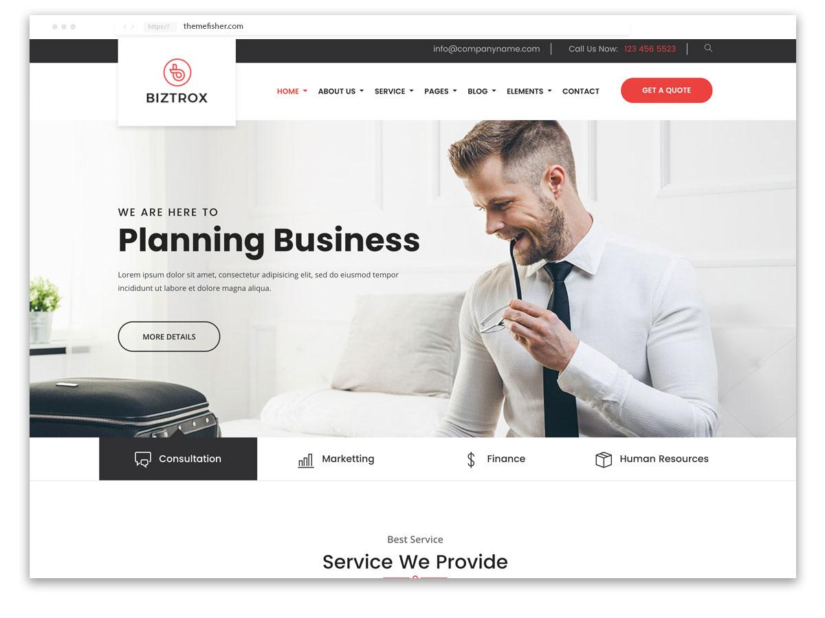 website design template Trinidad